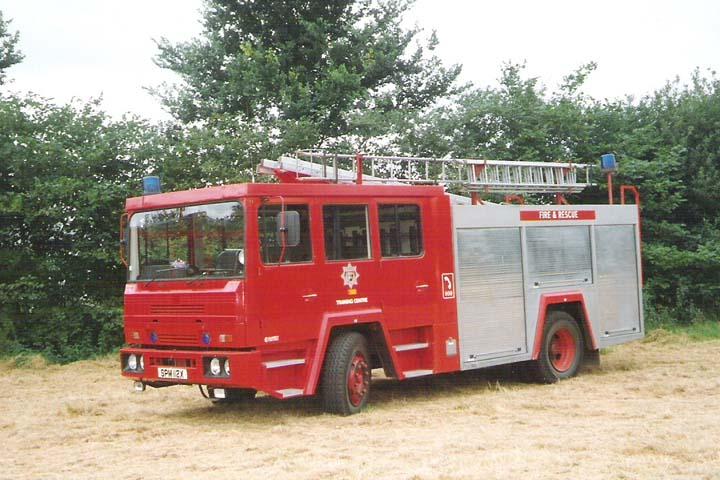 Surrey Fire Brigade 1980 Shelvoke&Drewry WrT
