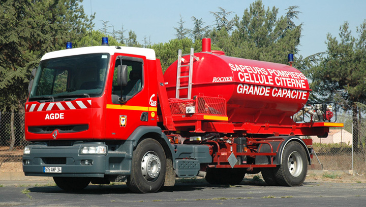 Agde Renault Prime mover