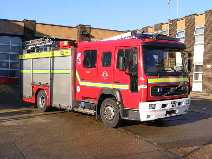 East Sussex FRS Volvo JDC Hove Fire station