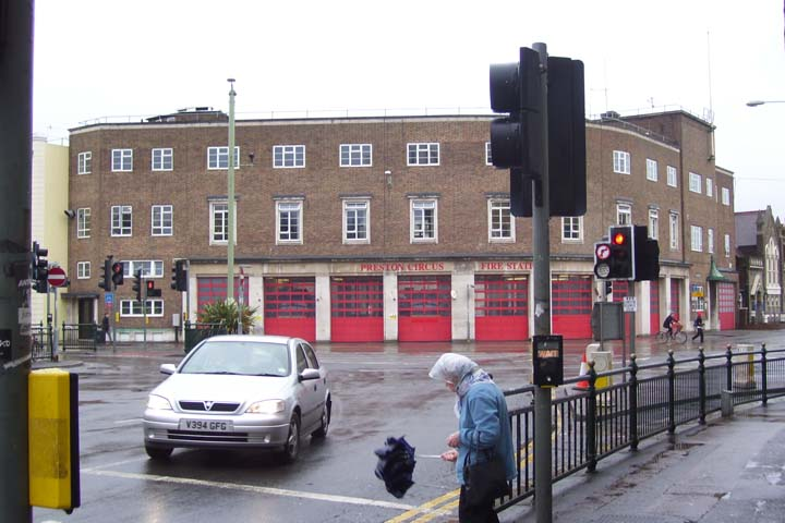 Preston Circus Fire station Brighton East Sussex