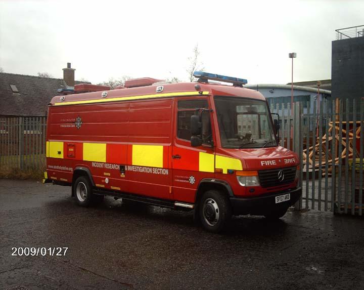 Strathclyde FRS Fire Investigation Unit