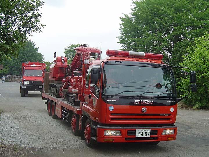 Tokyo Fire Department Isuzu Transporter