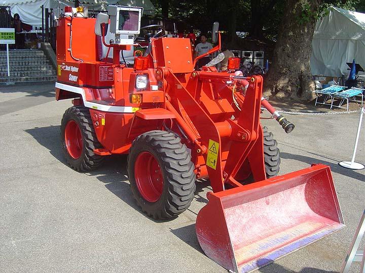 Tokyo Fire department special equipment