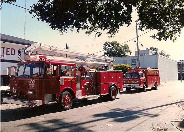 New Orleans Fire Department 1990