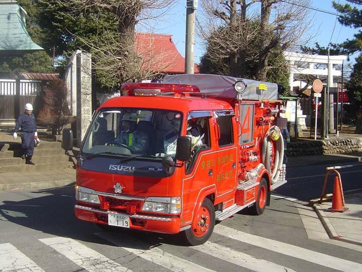 Photo of Tokyo MVFCS Isuzu light pumper