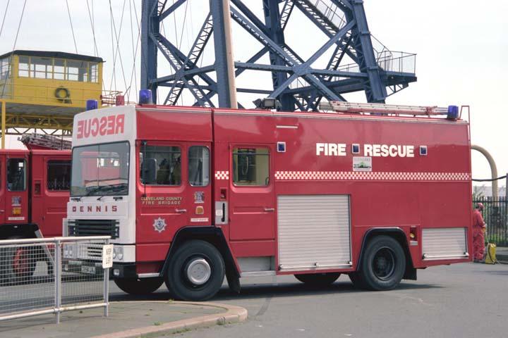 Cleveland County Fire brigade Rescue C854UAJ