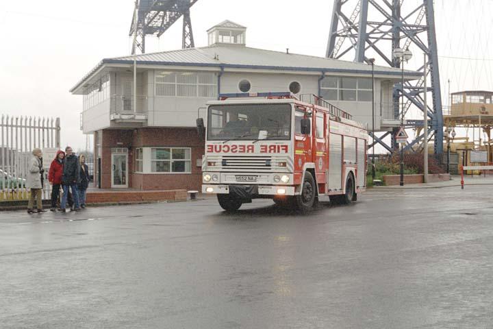 Cleveland County Fire brigade Dennis pump