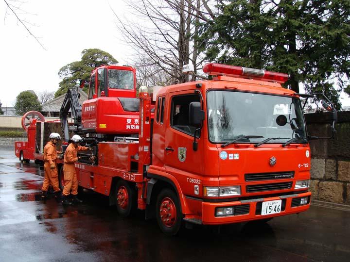 Hyper Rescue 6 Mitsubishi carrier