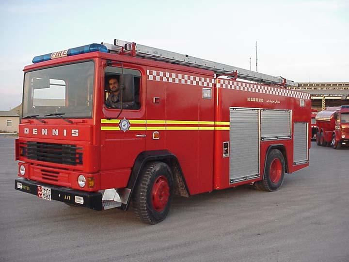 Dennis DF131 Foam/Water/Emergency Tender