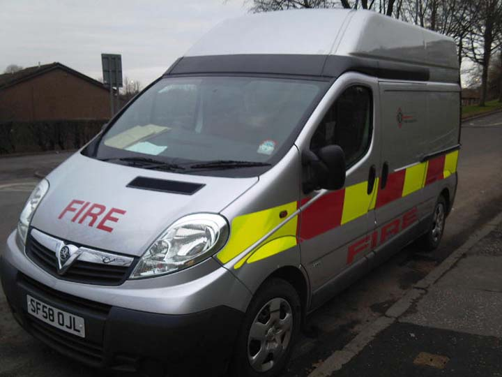 Strathclyde Fire & Rescue Van