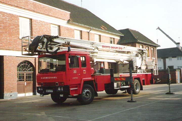 1986 Shelvoke&Drewry/Carmichael/Bronto Skylift