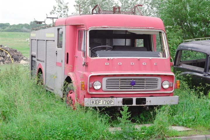 Old Dodge KEF170P former North Yorkshire