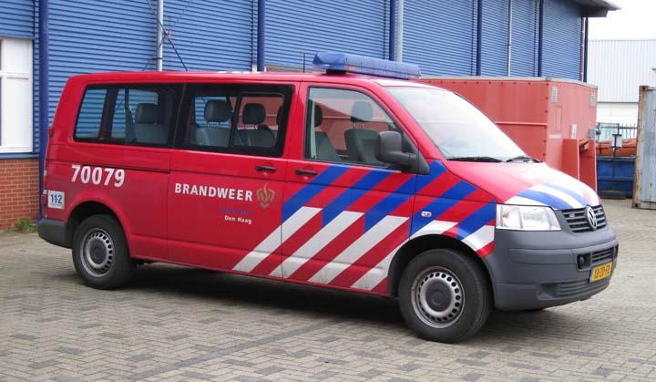 Brandweer Den Haag Volkswagen T5