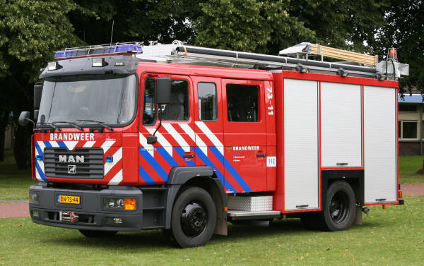 brandweer Diever MAN watertender 7311