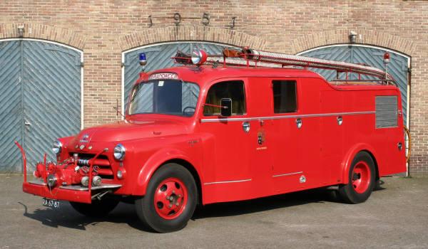 brandweer Ruinerwold Dodge watertender