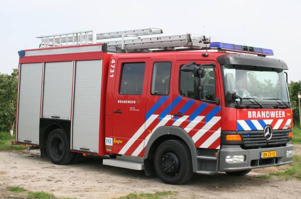 brandweer Borssele MB Atego 4731