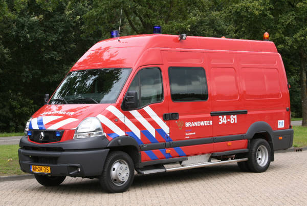 brandweer Norg 3481 Renault Mascott