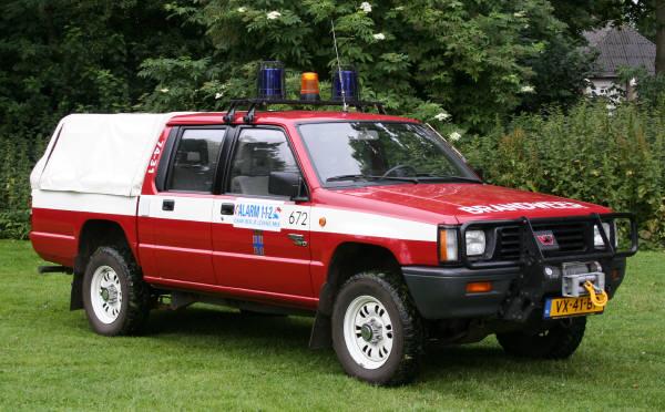 brandweer Dwingeloo 7431 Mitsubishi L200