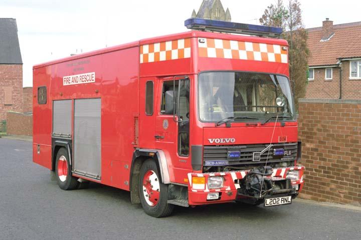 Gateshead Fire station Volvo ET L202ANL