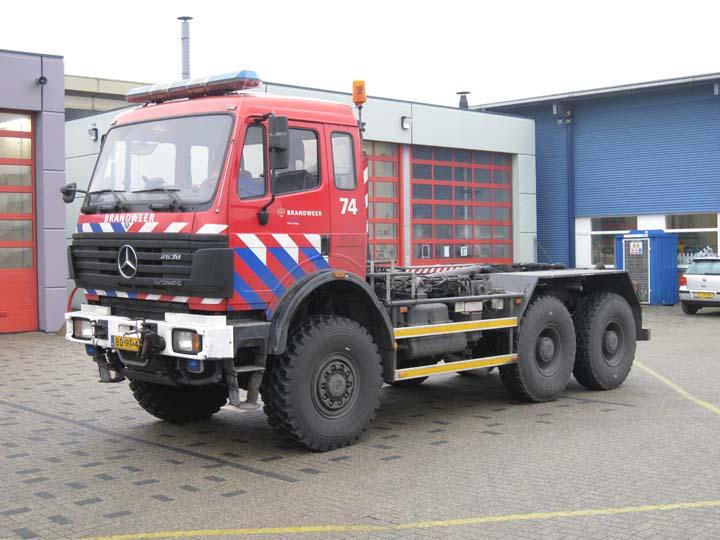 Fire Engines Photos Brandweer Den Haag Mercedes 2638 Prime Mover