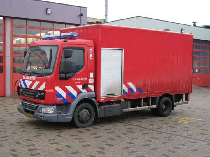 Brandweer Den Haag DAF LF Hose layer/BA unit