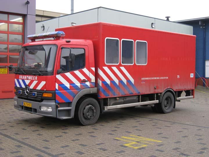 Fire Engines Photos Brandweer Den Haag Mercedes Benz Atego Ba Unit