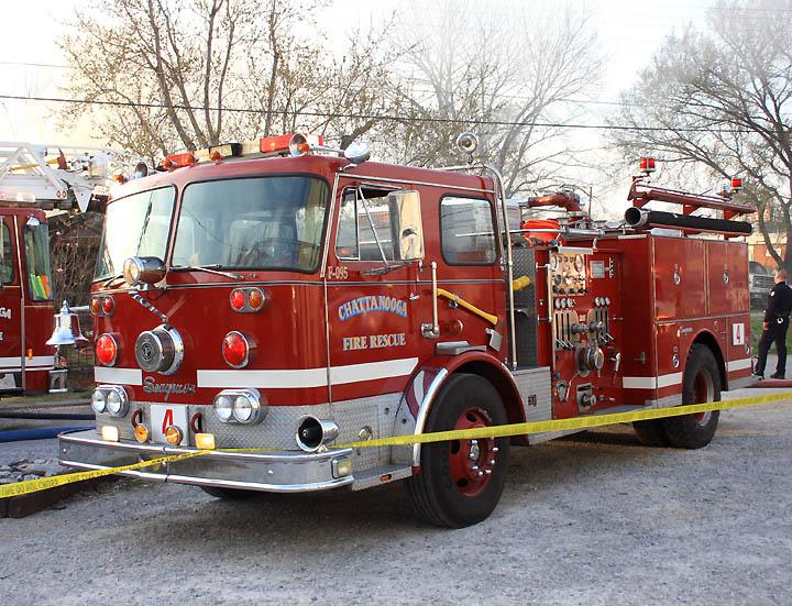 Chattanooga, TN Seagrave pumper