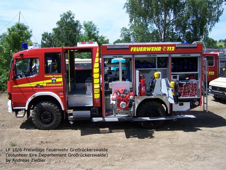 Freiw. Feuerwehr Grossrückerwalde Mercedes