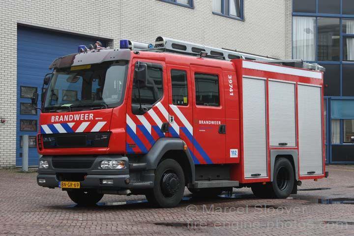 DAF LF55 Gemco pump Brandweer Arnhem