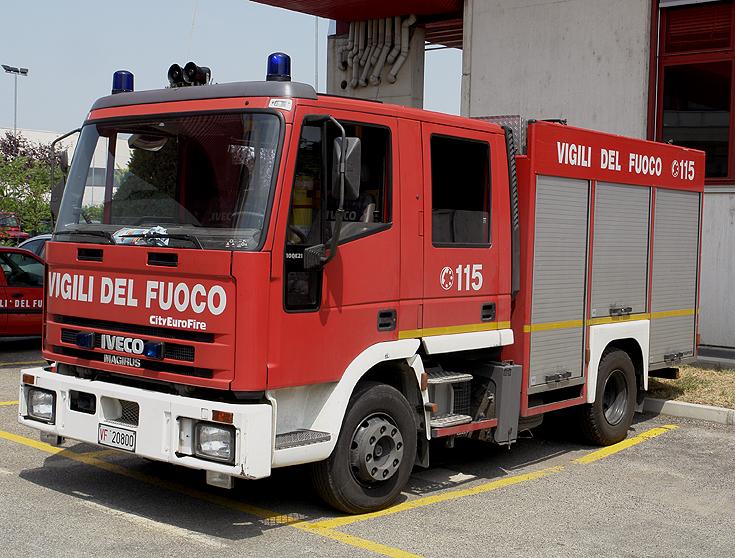 Vigili del Fuoco Bologna Iveco City Eurofire
