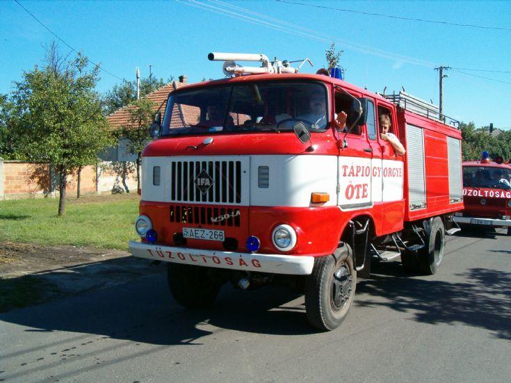 IFA W50 fire engine Hungary