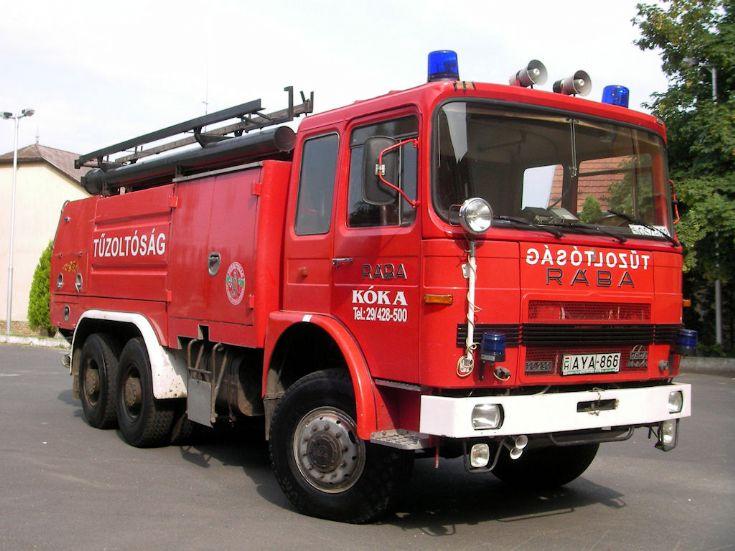 Raba Kokas Fire brigade Hungary