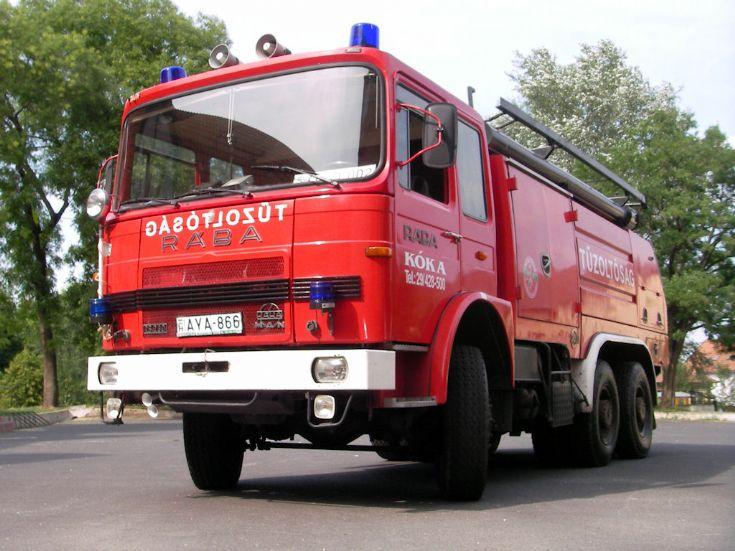 Koka Fire department Hungary Fire engine