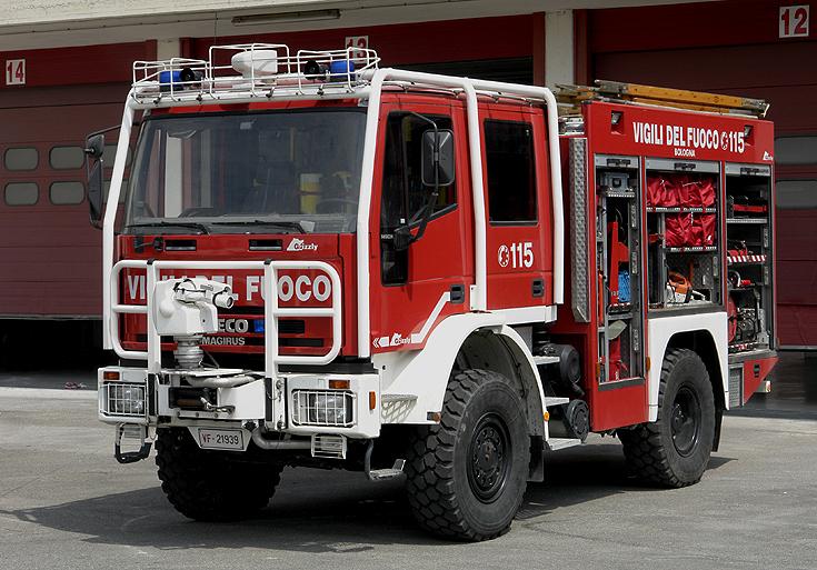 Vigili del Fuoco Iveco Brush fire truck