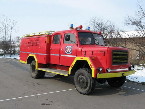 TAM 5500 Fire engine DVD Bavaniste Serbia