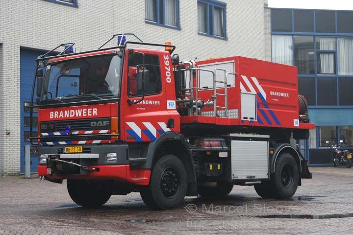 Brandweer Arnhem DAF 65 prime mover