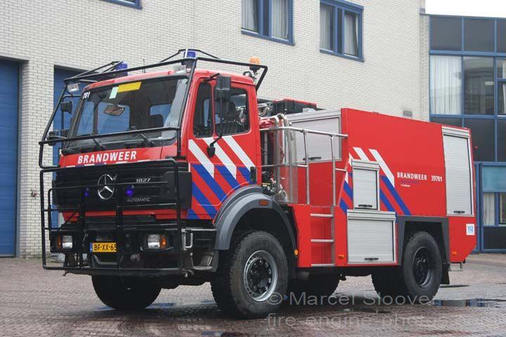 Mercedes Benz brandweer Arnhem Watercarrier