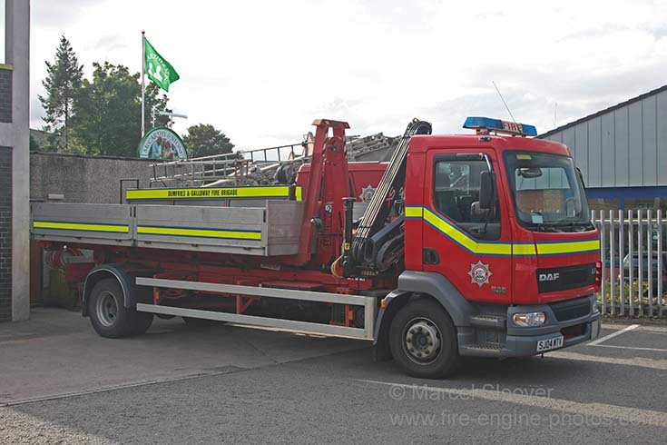 Dumfries & Galloway FB DAF LF Prime mover