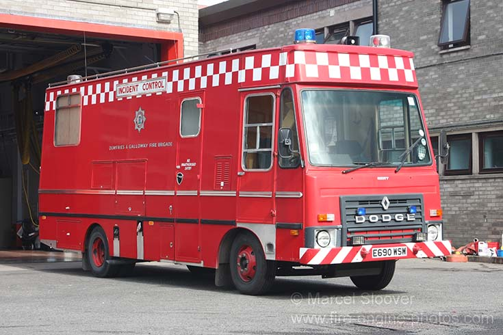 Dodge G08 Dumfries & Galloway Fire Brigade ICU