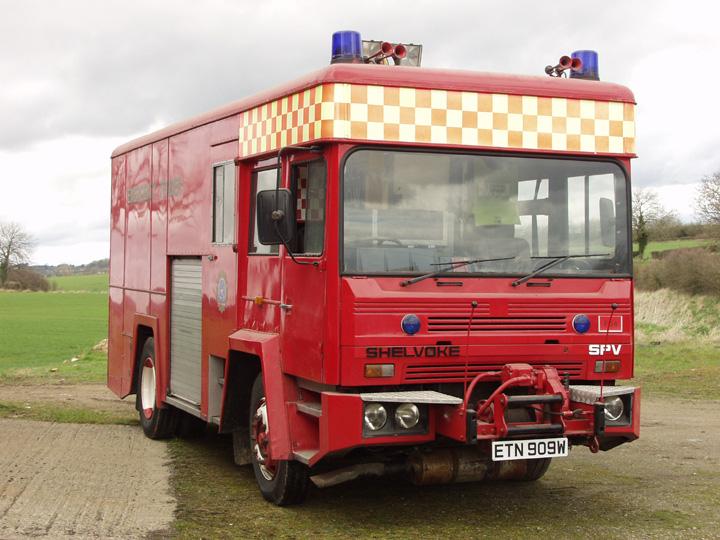 Shelvoke Emergency Tender - 1980