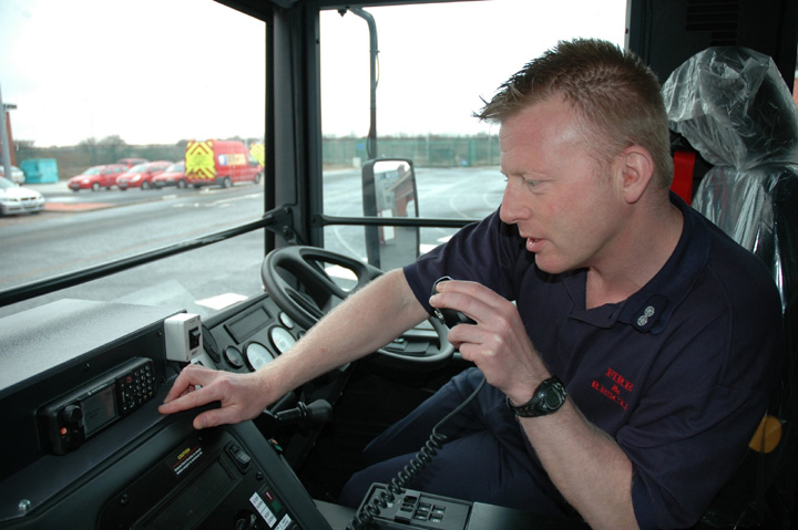Fire Engines Photos Dennis Sabre Cab With New Airwave Radio