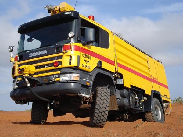 Brazilian Air Force Scania Rosenbauer tender