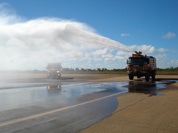 Crashtender Brazilian air force