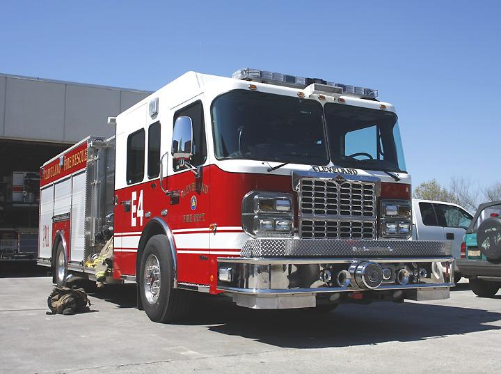 Cleveland Fire Rescue Crimson Spartan
