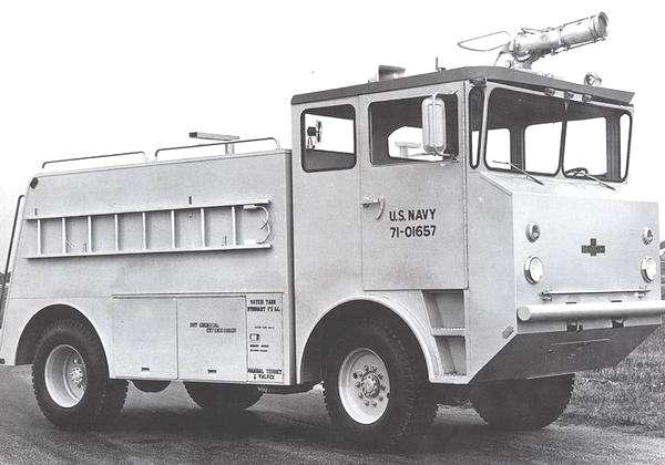 1971 Oshkosh MB5 Fire Truck 400 Gallon