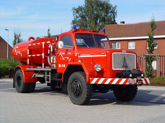 Brandweer Bree Belgium forest