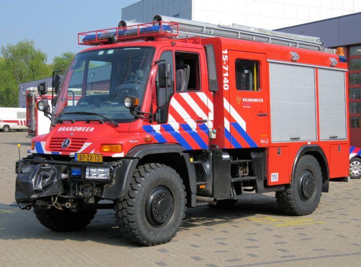 Fire Engines Photos Brandweer Den Haag Mercedes Unimog 15 7140