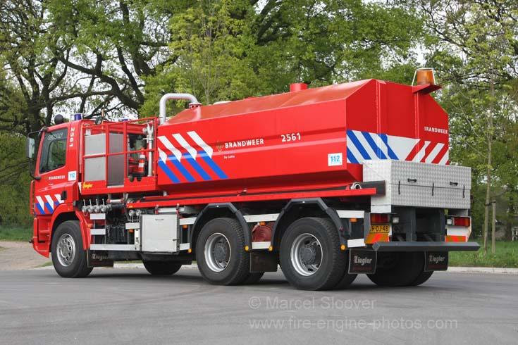 Brandweer De Lutte Ginaf Water carrier back