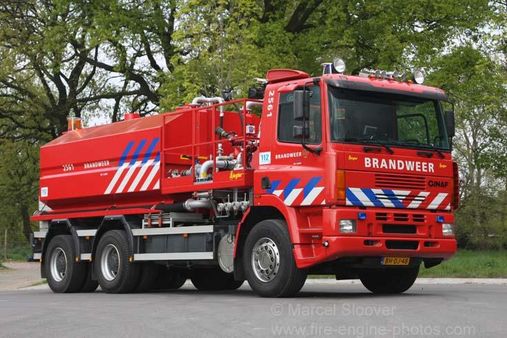 Brandweer De Lutte Ginaf Water carrier