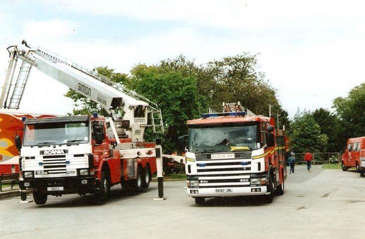 Cleveland Fire Brigade Scania Fire engines